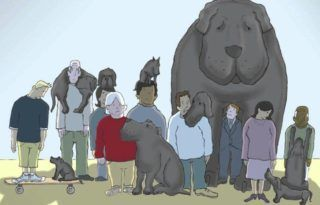 O Cão Negro da depressão