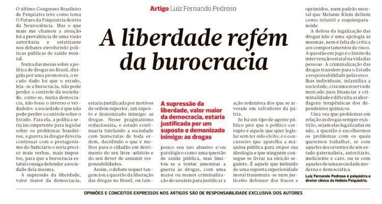 A liberdade refém da burocracia