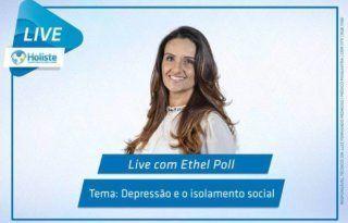 LIVES HOLISTE | DEPRESSÃO E O ISOLAMENTO SOCIAL