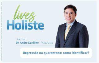 LIVES HOLISTE | DEPRESSÃO NA QUARENTENA: COMO IDENTIFICAR?
